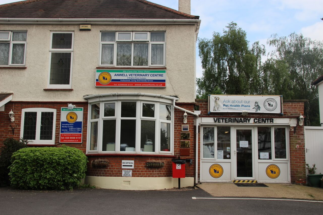 The Croydonvets branch of Anwell Vets.